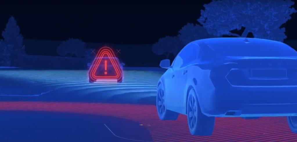 Система сканирует транспортные средства во избежании аварии